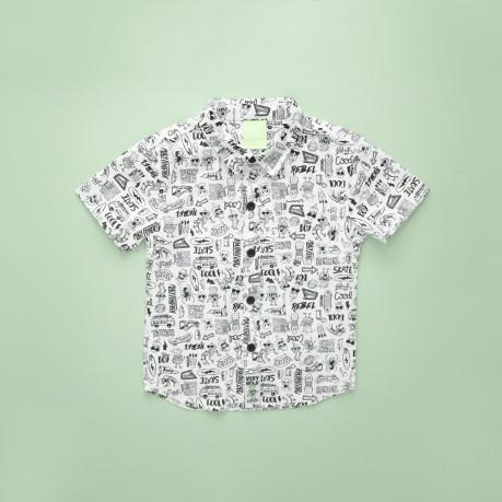 camisa para niños mangas cortas Grisino primavera verano 2019