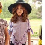 camisas para niños y niñas Nina Pauls primavera verano 2019