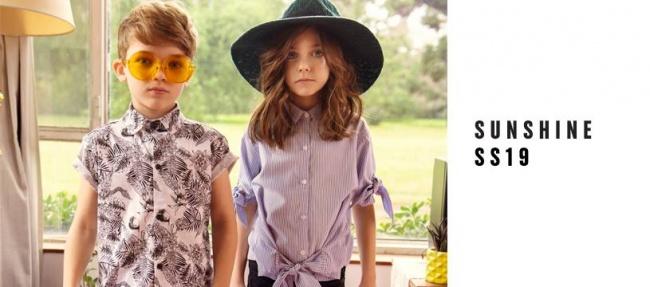 camisas para niños y niñas Nina & Pauls primavera verano 2019