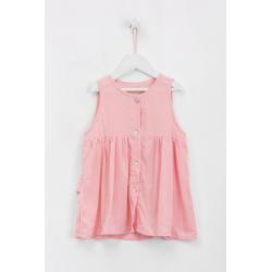 camisola plisada rosa para niña Alpiste primavera verano