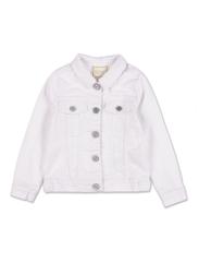 campera jeans blanca para niña Cheeky primavera verano 2019