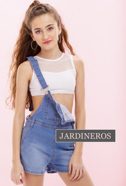 jardinero jeans para niñas adolescentes So Cippo verano 2019