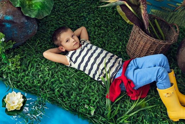 jeans para nene Paula Cahen D Anvers Niños verano 2019