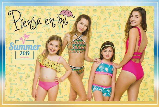 mallas enterizas y bikinis Piensa en Mi primavera verano 2019