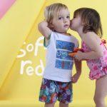 mallas para bebes Soft Red Primavera verano 2019