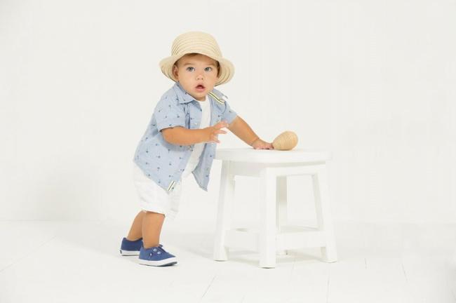 moda fiesta con bermuda bautismo moderno bebe minimimo co Verano 2019