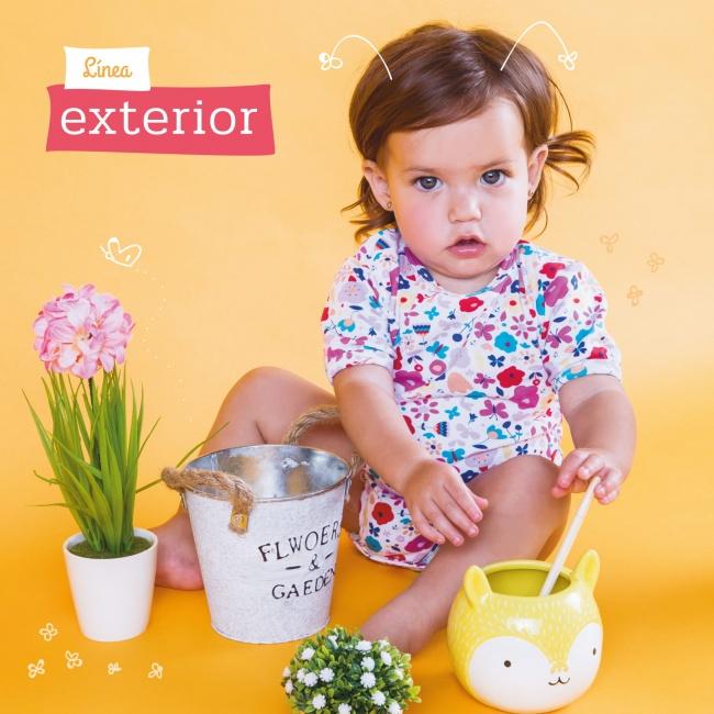 moda para bebes Naranjo verano 2019