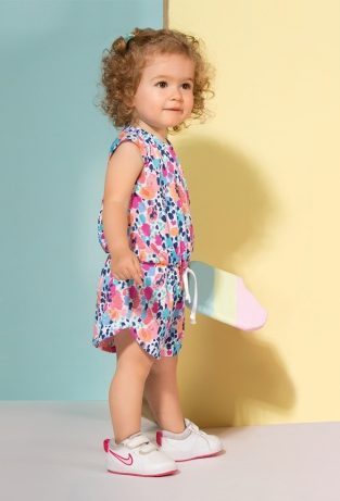 mono corto para beba Jeans y camisas para bebes primavera verano 2019 e1533838156923