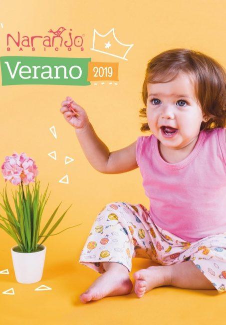 pantalon estampado beba Naranjo verano 2019 e1533925548642