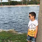 remera mangas cortas y bermuda jeans niño Gimos by Rockeritos verno 2019