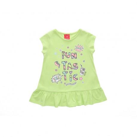 remera verde para niña Grisino primavera verano 2019