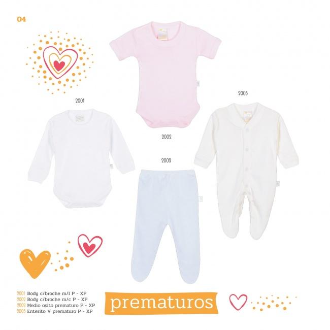 ropa para bebes prematuros Naranjo verano 2019