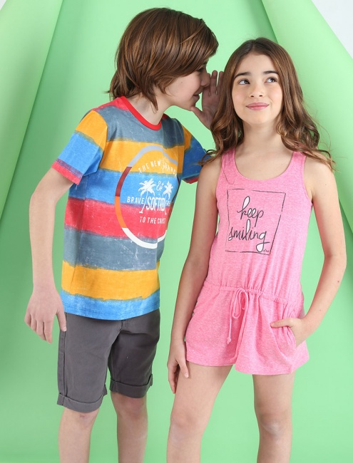 ropa para chicos Soft Red Primavera verano 2019
