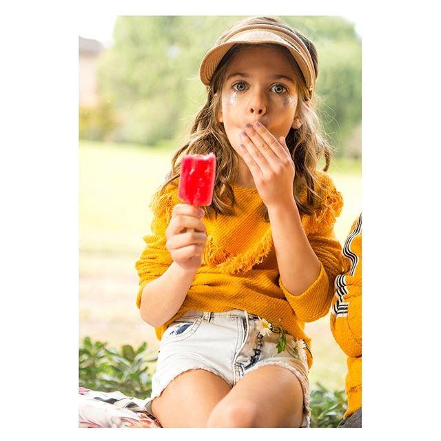 seater hilo amarillo niña Nina & Pauls verano 2019
