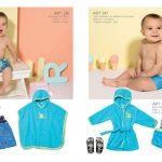 short de baño capas y batas para bebes PILIM verano 19