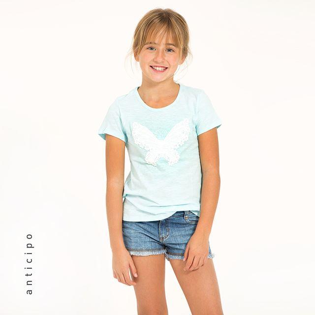 short de jeans par aniñas mimo co verano 2019