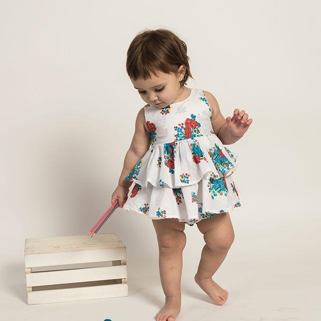 solero con volado para niña bebe Zuppa verano 2019