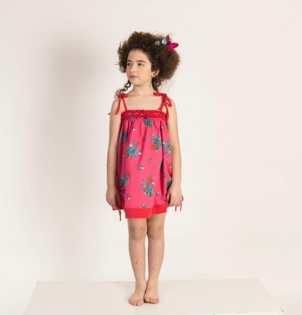 solero escote strapless con breteles niña Zuppa verano 2019