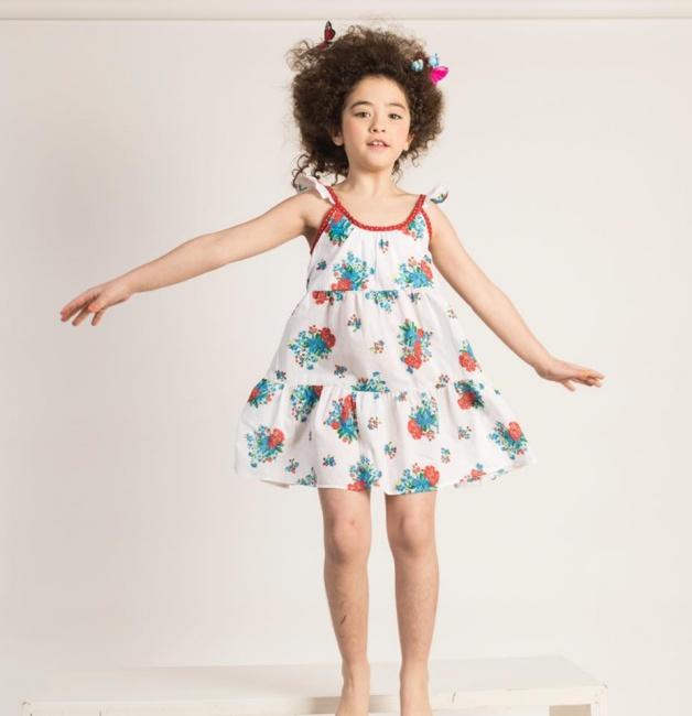 solero estampado para niñas Zuppa verano 2019