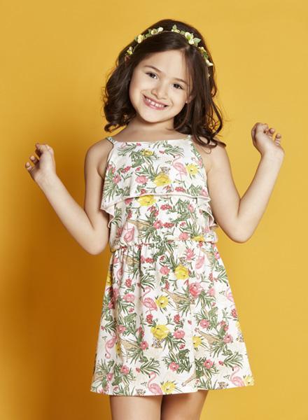 44d969136 solero para niña estampado floral Nucleo nenas verano 2019