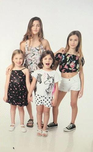 top fibrana para niñas Piensa en mi primavera verano 2019