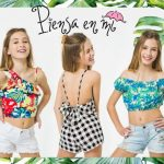 tops estampados para niñas Piensa en MI primavera verano 2019