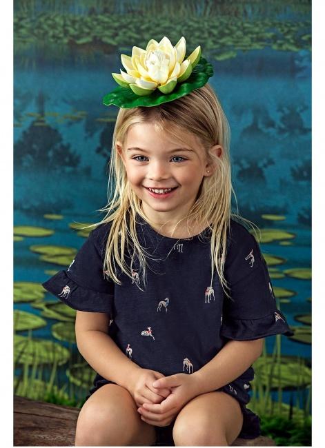 vestido azul para niña Paula Cahen D Anvers Niños verano 2019