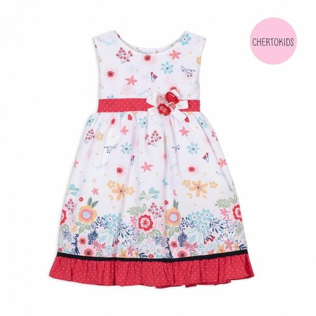 vestido beba floreado Cherto Kids primavera verano 2019