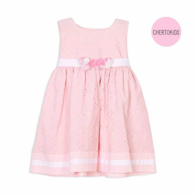 vestido broderie beba Cherto Kids primavera verano 2019