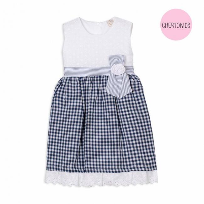 vestido cuadrille beba Cherto Kids primavera verano 2019