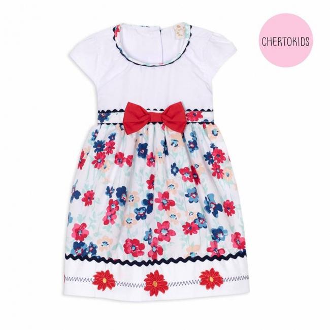 vestido floreado beba Cherto Kids primavera verano 2019