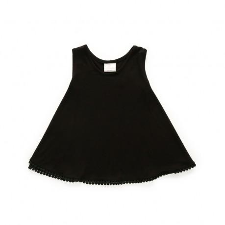 vestido negro para beba Broer Enfants verano 2019