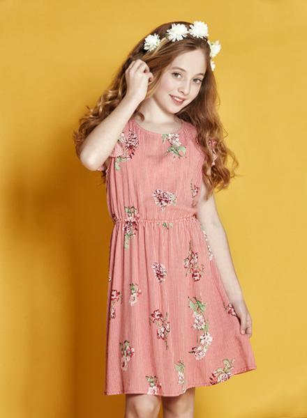 c7ddf7ef75d vestido para niña yersey estampado Nucleo nenas verano 2019 – Minilook
