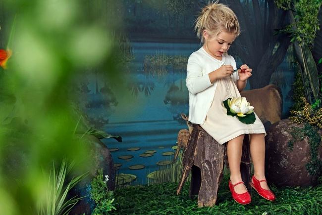 vestido rosa para nena Paula Cahen D Anvers Niños verano 2019