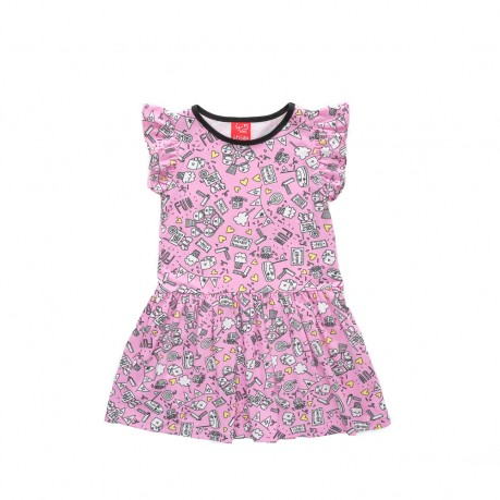 vestidos de algodon para niñas Grisino primavera verano 2019