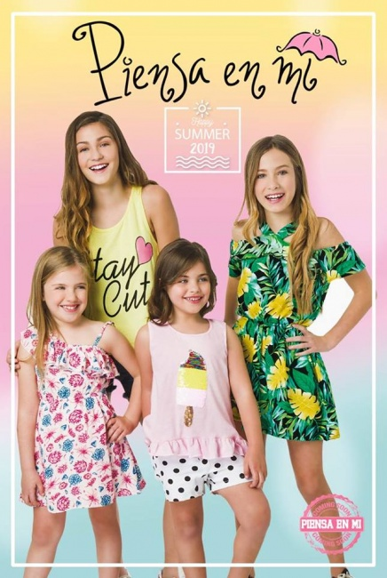 vestidos frescos y casuales para nenas Piensa en Mi primavera verano 2019