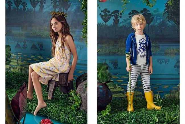 vestidos para nenas pantalon a rayas niños Paula Cahen D Anvers Niños verano 2019