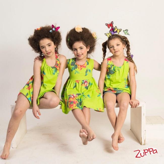 zuppa primavera verano 2019 vestidos coloridos para niñas