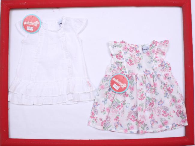 bd3aec56b vestido plisado floreado para niña bebe Solcito primavera verano 2019. Vestido  para beba Solcito verano 2019