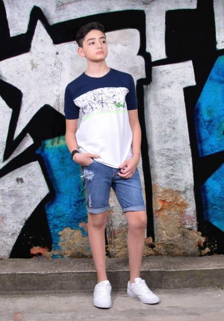 bermuda de jeans para chicos Abellie verano 2019