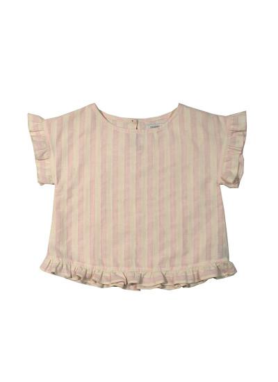 blusa de lino para niñas Pioppa verano 2019