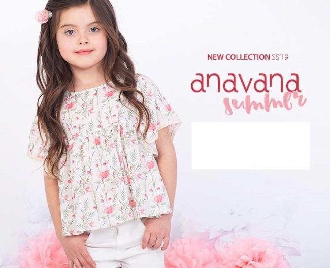 blusa mangas cortas para niñas Anavana primavera verano 2019