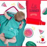 Bobys y remeras para bebes – A la Pipeta verano 2019