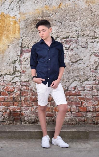 camisas para chicos Abellie verano 2019