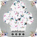 campera algodon rustico para beba Abellie verano 2019