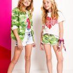 campera y short camuflados para niñas Kosiuko Kids primavera verano 2019