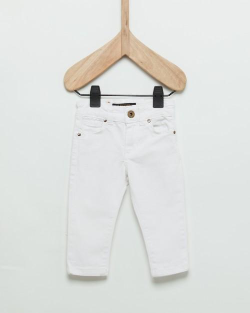 jeans blanco beba Wanama Boy  Girls verano 2019
