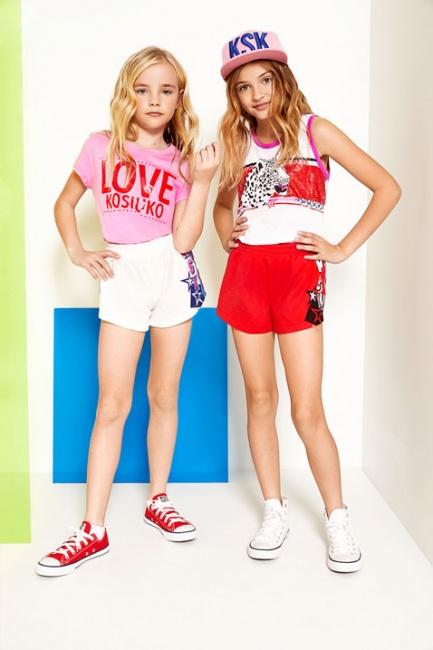 look urbano para niñas Kosiuko Kids primavera verano 2019