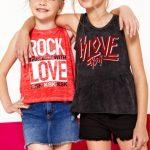 musculosas estilo rock niñas Kosiuko Kids primavera verano 2019