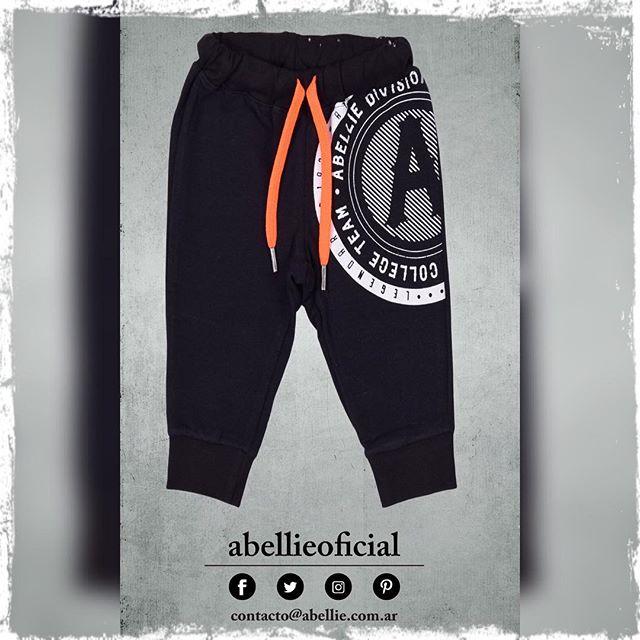 pantalon negro algodon bebes Abellie verano 2019